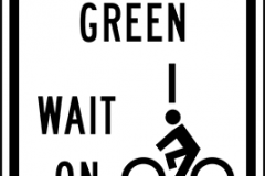 Bicycles to request green wait on line