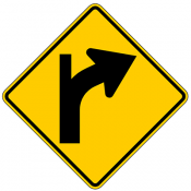 Combination Curve Side Road Intersection Tangent
