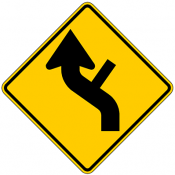 Combination Reverse Curve Side Road Intersection