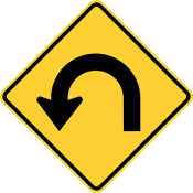 Hairpin curve