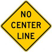 No Center Line