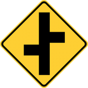 Offset roads
