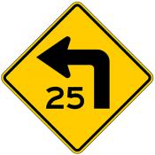Turn with Speed Advisory
