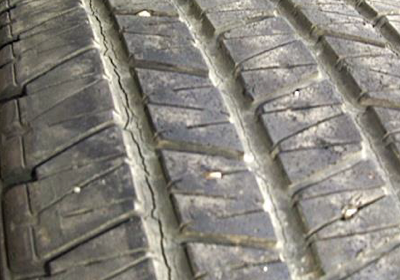 Cracks in Tread