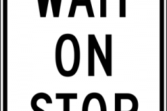 Wait on stop