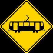 Light rail crossing