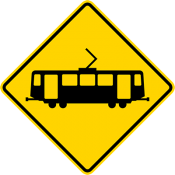 Light rail crossing