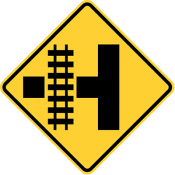 Railroad intersection warning