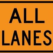 All lanes