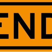 End of road work