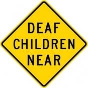 Deaf children near area