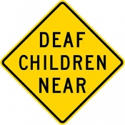Deaf children near area