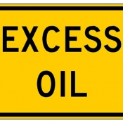 Excess Oil in road slippery conditions