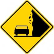 Awareness of Falling Rocks Area