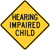 Hearing impaired child area