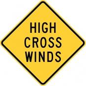 High crosswinds area