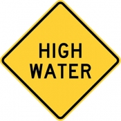 High water area