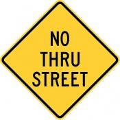 No thru street