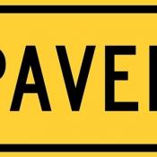 Paved road ahead