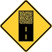 Pavement ends ahead