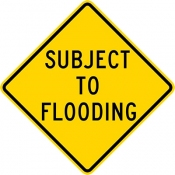 Subject to flooding area