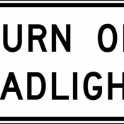 Turn on headlights