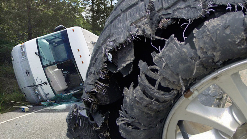 How To Handle A RV Blowout