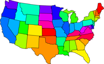 geographics of the US